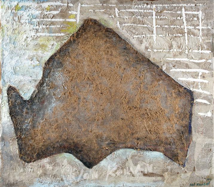 Bue-grigio-nella-stalla-1997-olio-su-tela-71x75