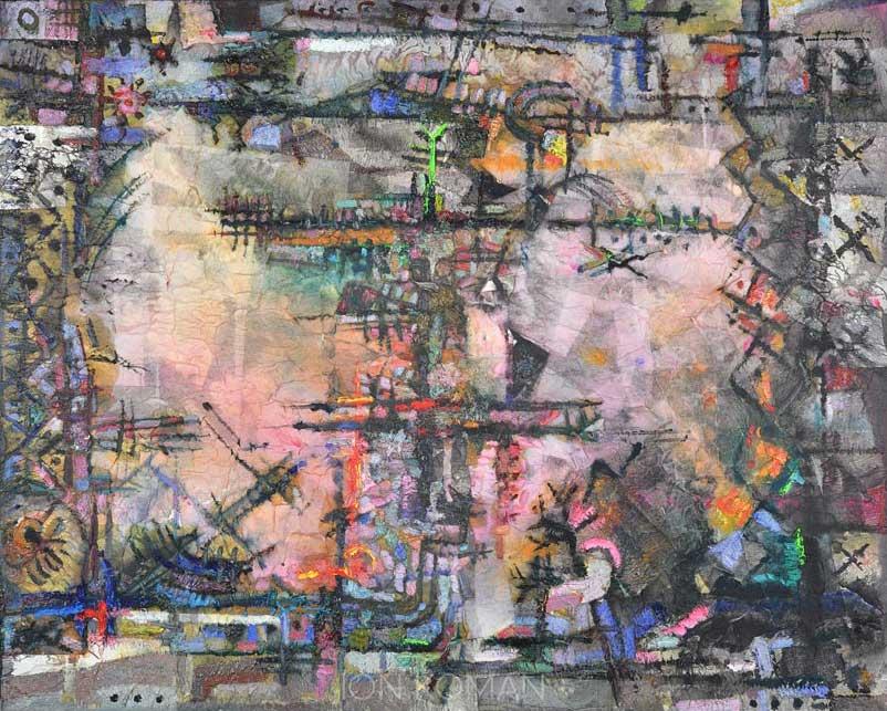 Cantiere-al-porto-2008-tecnica-mista-su-tela-80x100