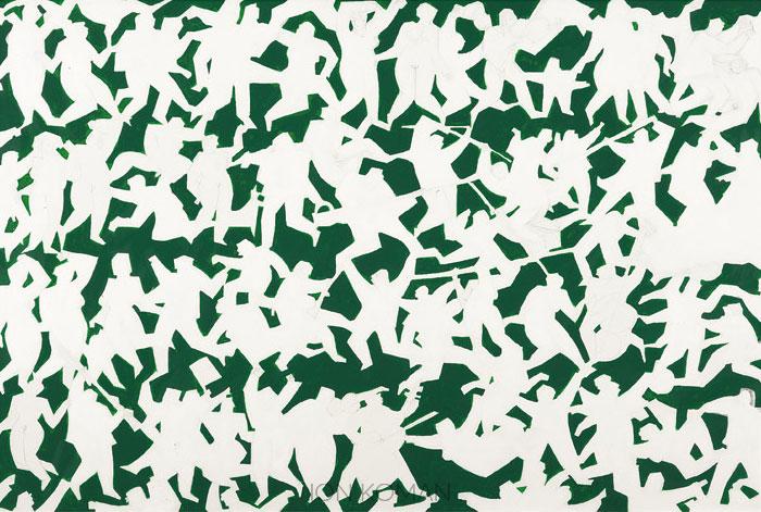 Figure--sul-prato-2009-acril-tela-60x90