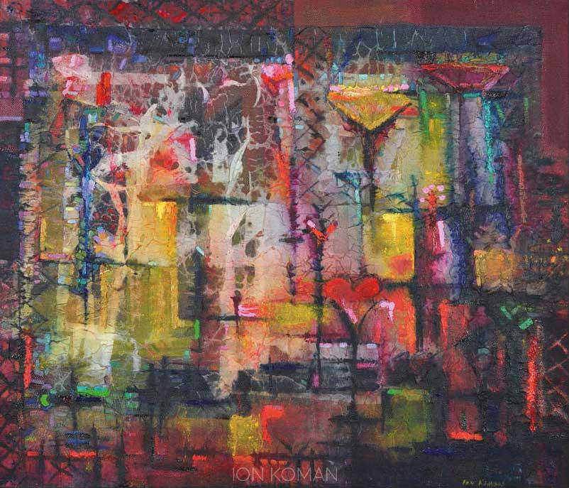 Finestra-con-fiori-2009-tecnica-mista-su-tela-85x90