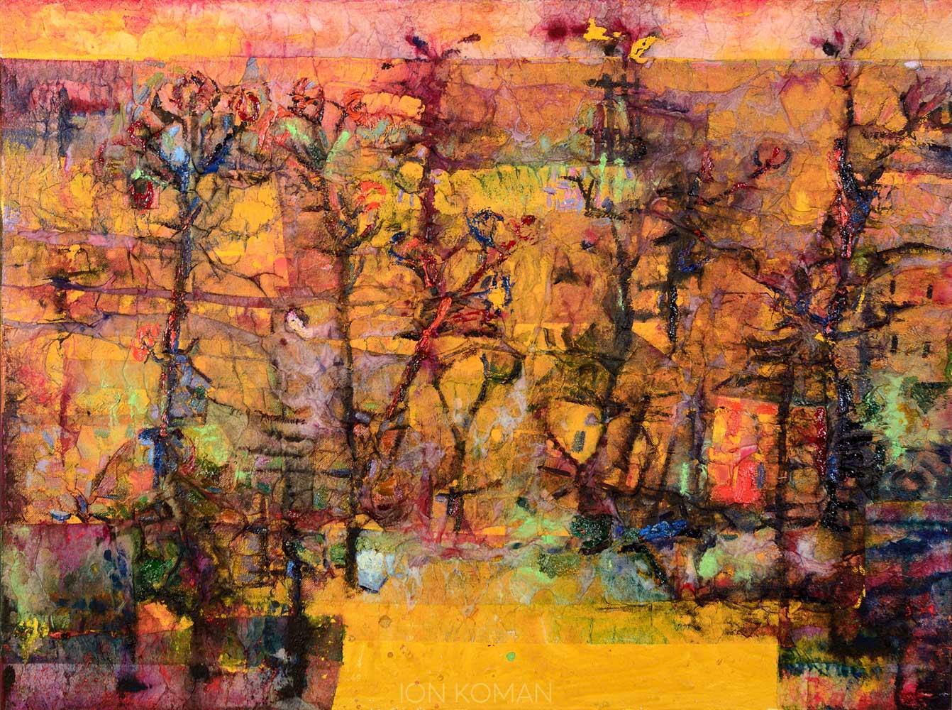 Paesaggio-giallo-2010-tecnica-mista-su-tela-70x80