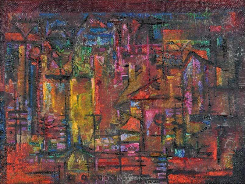Paesaggio-rosso-2008-tecnica-mista-su-tela-60x80