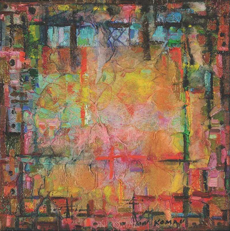 Pesci-alla-finestra-2008-tecnica-mista-su-tela-30x30