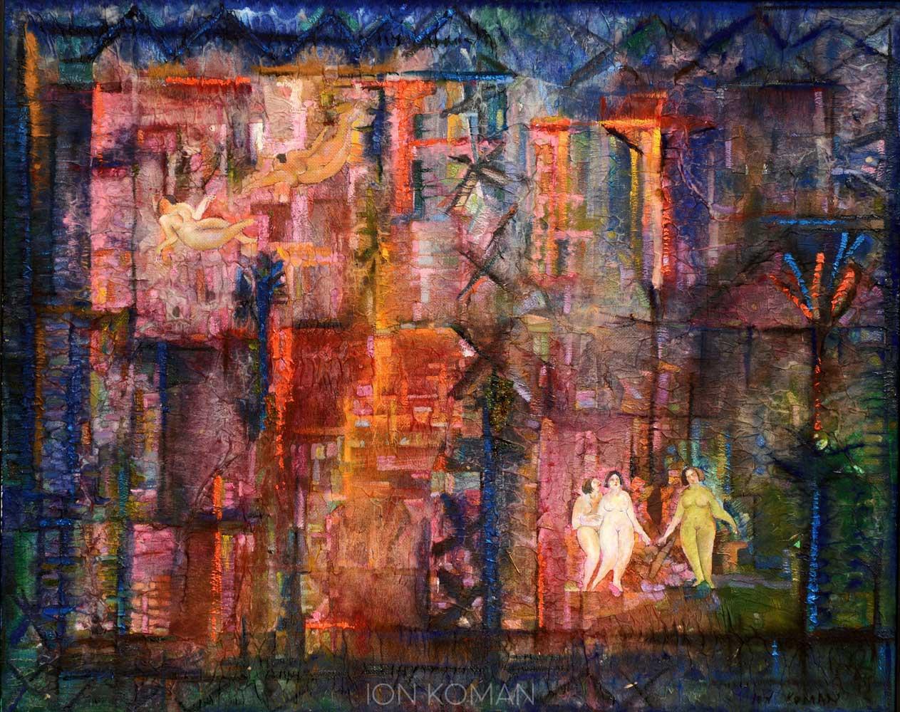 Dalla-finestra-2010-tecnica-mista-su-tela-80x100